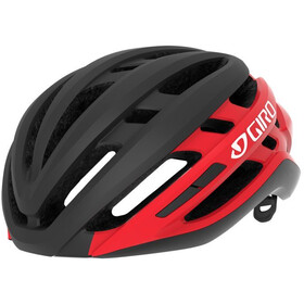 Giro Agilis MIPS Helm, matte black/bright red